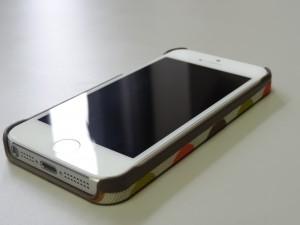 iPhone5ケース TREXTA [トレックスタ]  Oria Kiely [オーラ・カイリー]スナップオンカバー マルチステム (18401)