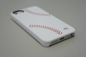 iPhone5用Trexta 本革張りハードケース スポーツ(ベースボール)18784