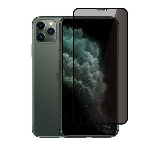 iPhone 11 Pro Max / Xs Max 用 180°のぞき見防止 プライバシーガラスフィルム