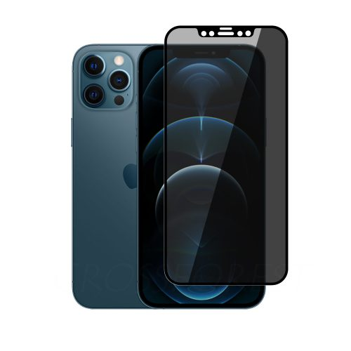 iPhone 12 Pro Max (6.7インチ) 用 360°のぞき見防止 プライバシー ガラスフィルム