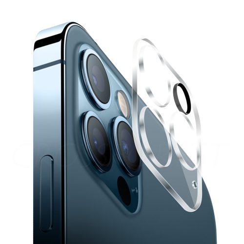 iPhone 12 Pro Max 用 背面 カメラ保護 ガラスフィルム